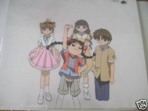 300x225 Cardcaptor Sakura Syaoran Meiling Tomoyo Sakura Anime