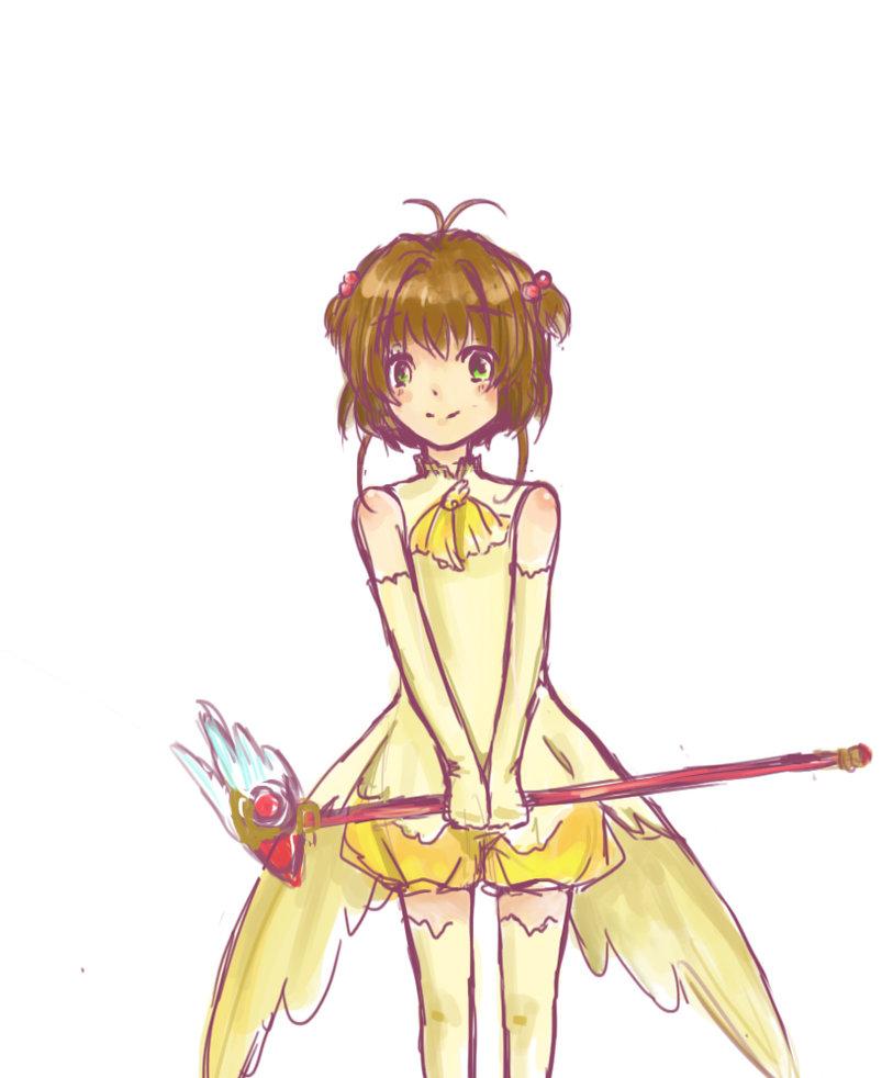 813x982 Sakura Kinomoto Cardcaptor Sakura By Browniebusker