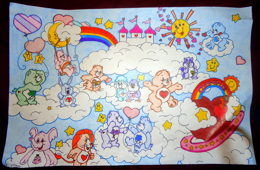 900x588 Care Bear Epicness By Amnajera