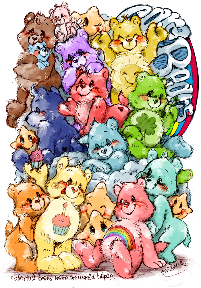 700x1001 Care Bears Caring Is Magic By Jiayi