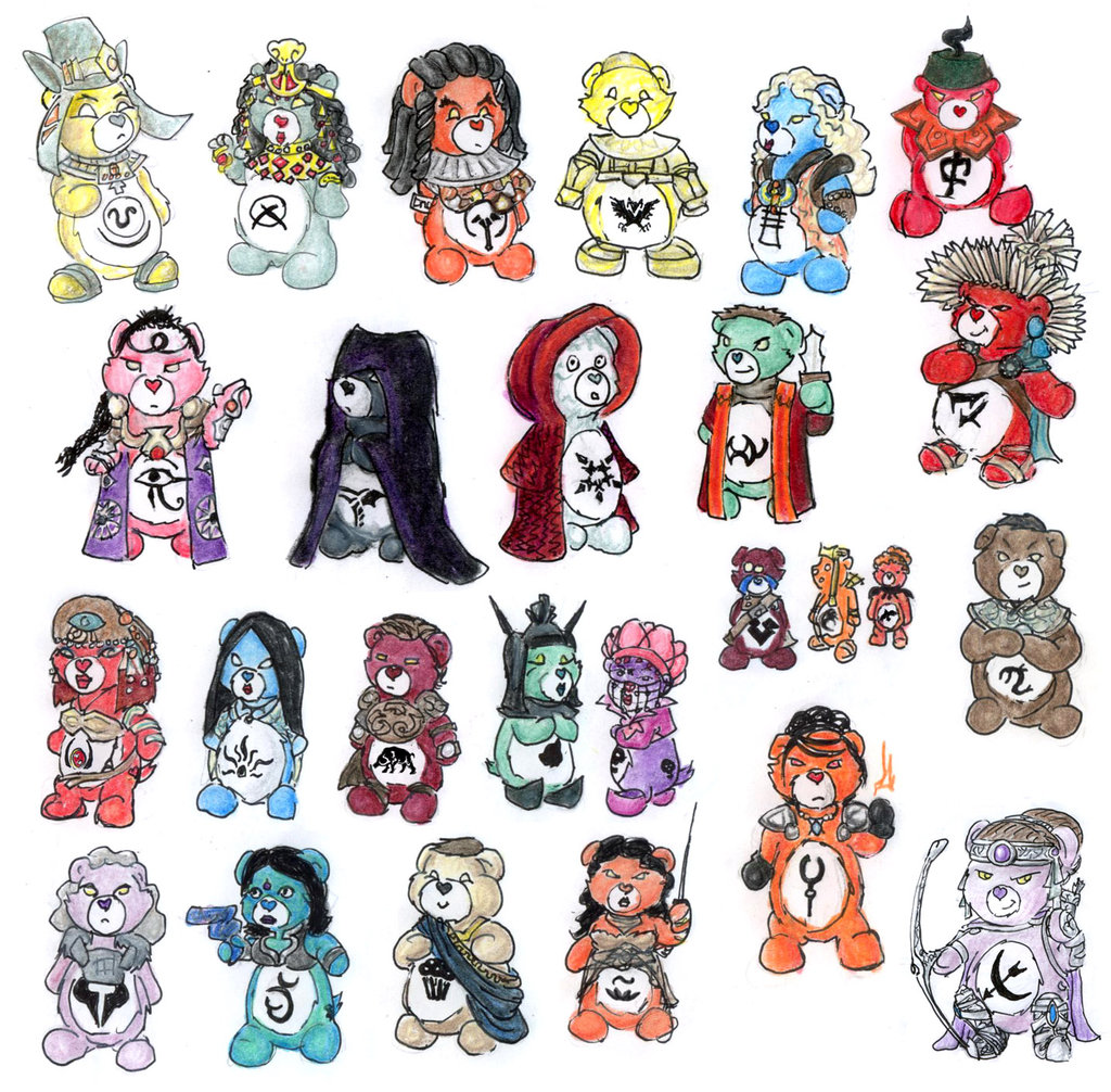 1024x1006 Goa'Uld Carebears By Nebulan