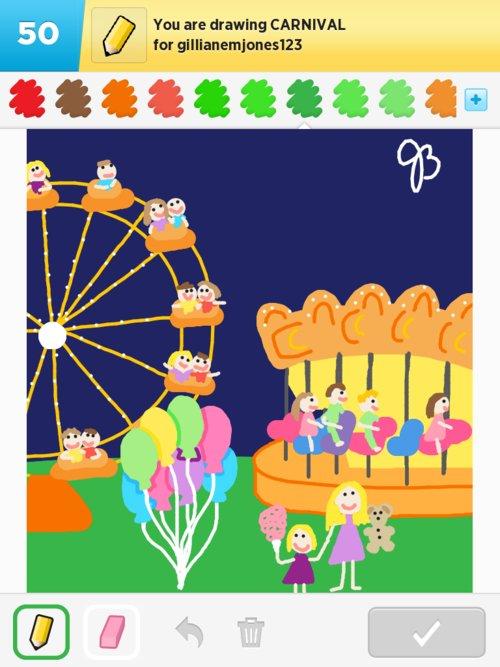 500x667 Carnival Drawings
