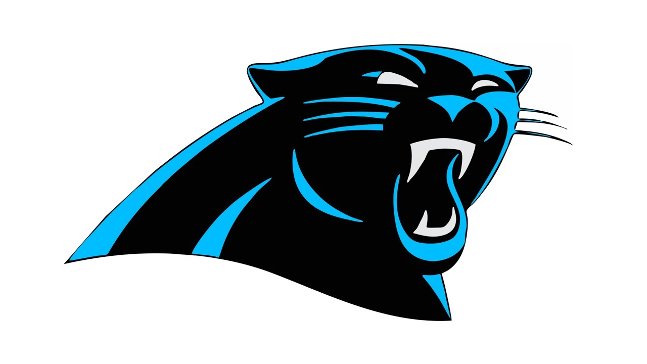 1280x720 How To Draw The Carolina Panthers Logo (Nfl)