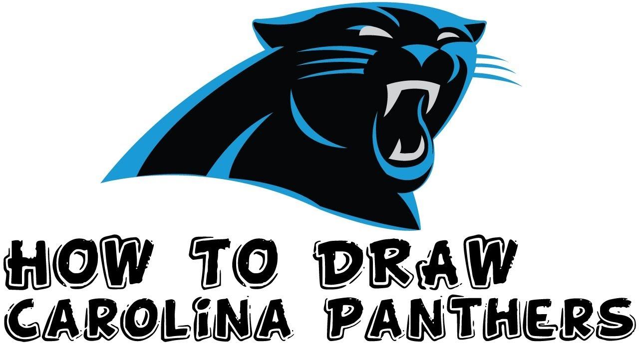 1280x720 Carolina Panthers How To Draw Carolina Panthers Logo For Kids