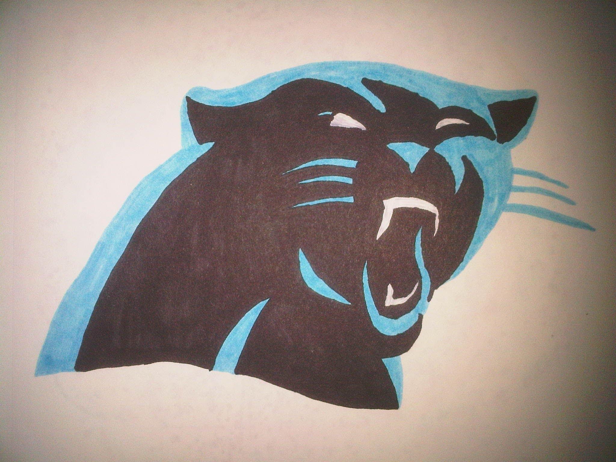 2048x1536 How To Draw The Carolina Panthers Logo