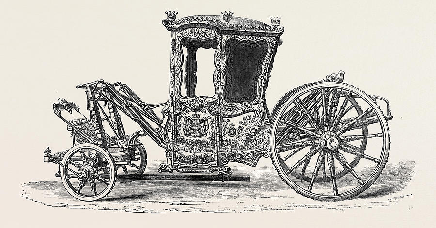 900x471 The Loan Collection South Kensington Museum Carriage Drawing By