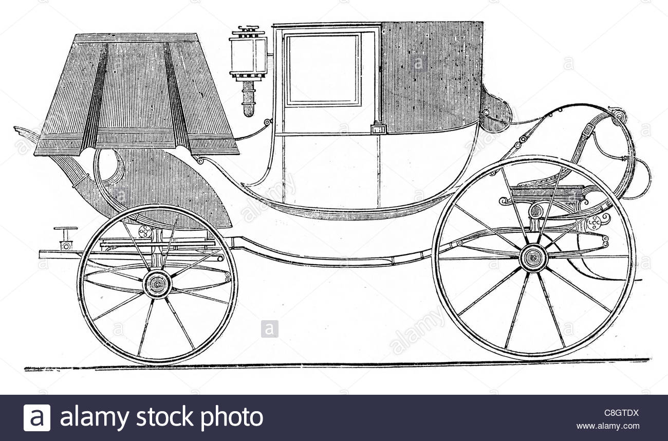 1300x858 Town Chariot Lamp Lantern Classical Ornate Carriage Stock Photo
