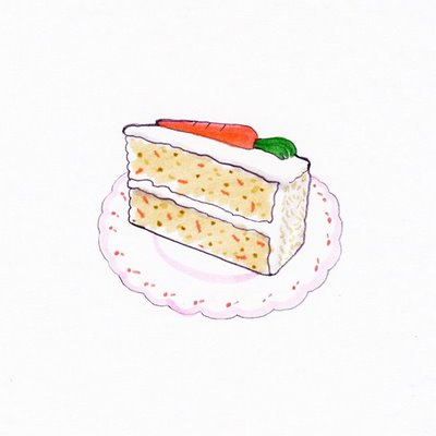 Carrot Cake Drawing At Getdrawings Com Free For Personal Use