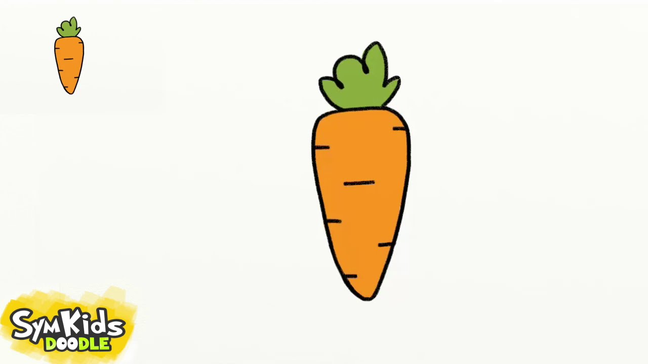Carrot Drawing At Getdrawings Com Free For Personal Use Carrot