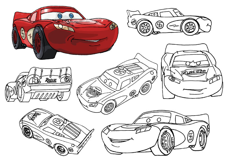 792x576 Allen Gladfelter Comics And Art Learning How To Draw The Cars