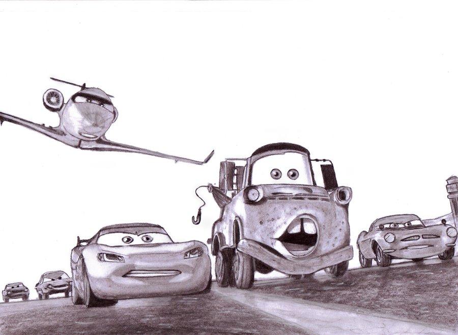 900x659 Cars 2 By Slayerlane