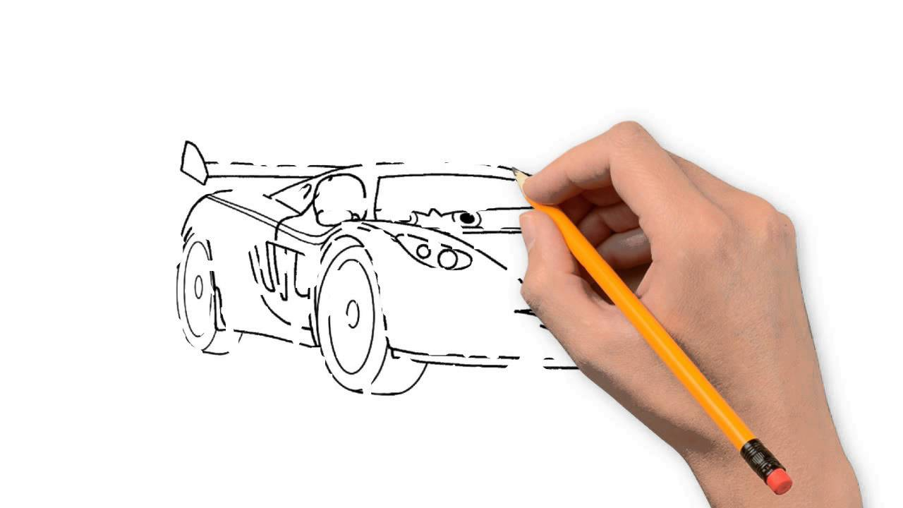 1280x720 Cars 2 Nature Pencil To Draw Step By Step