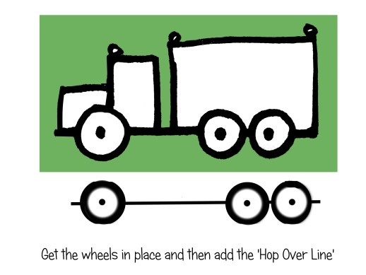 518x389 How Should You Teach Ages 4 To 9 To Draw Cars And Trucks
