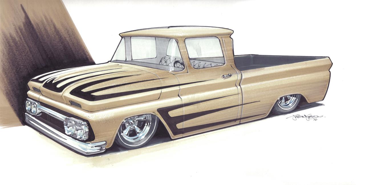 1280x651 Pencil Drawings Of Cars Trucks Car Drawings From 1320designs