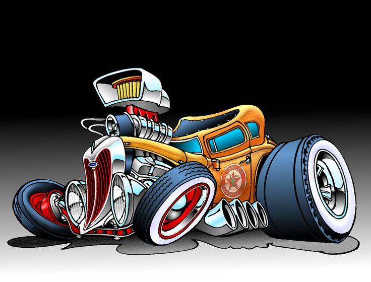 Crazy Car Art Drawings