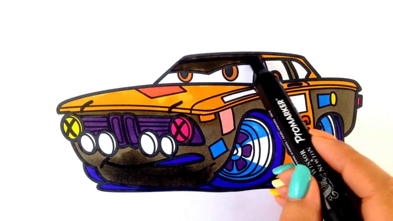 1280x720 How To Draw A Car. Bmw 2002 Super Fast Racing Car (Cartoon Cars 3