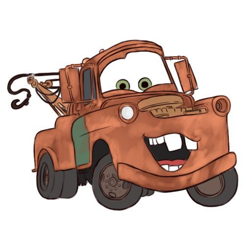 500x500 Draw Mater From Cars Cars, Draw And Crafts
