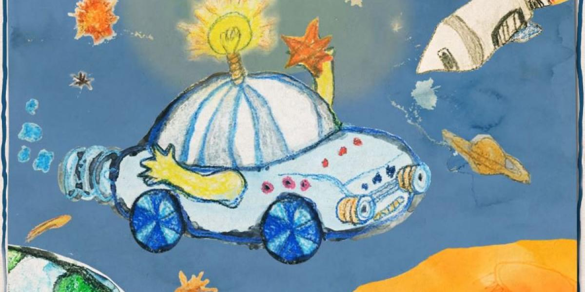 1200x600 Kids Draw, Hyundai Creates Cars Of The Future From Future Drivers