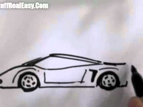 480x360 How To Draw Car(Easy)