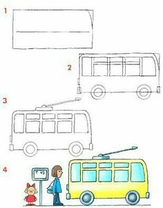 236x301 How To Draw A Car Kids Activities Cars, Drawings