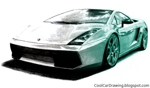 500x295 Cool Car Drawings Draw A Futuristic Car
