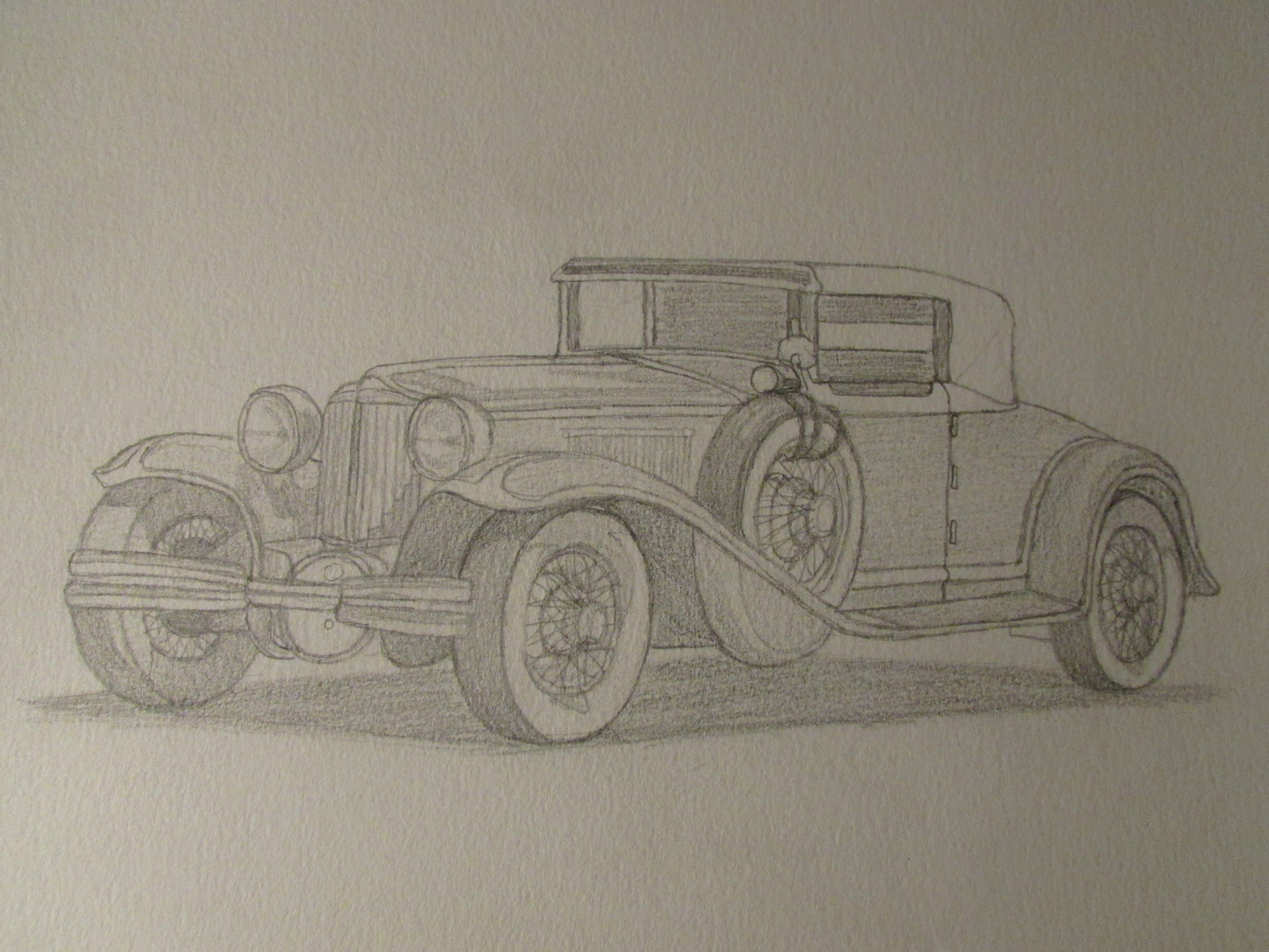 4608x3456 Painting Pencil Car Car Pencil Painting Bmw Pencil Drawing