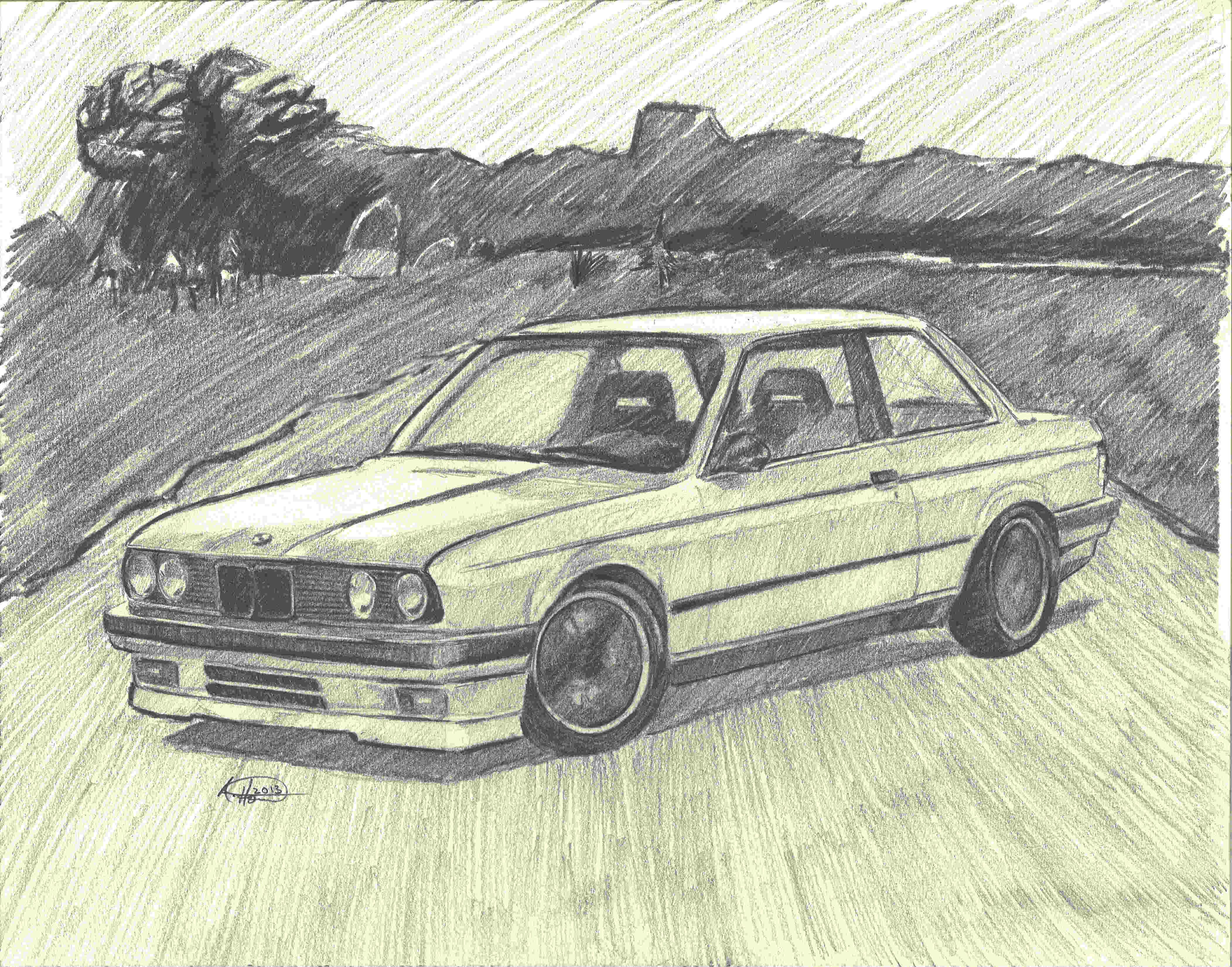 4206x3300 Pencil Drawings Art Cars Gallery Custom Drawings Andrew Horvath