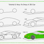 150x150 Drawing Cars Step By Step