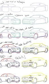 172x293 A To Draw Cars Step By