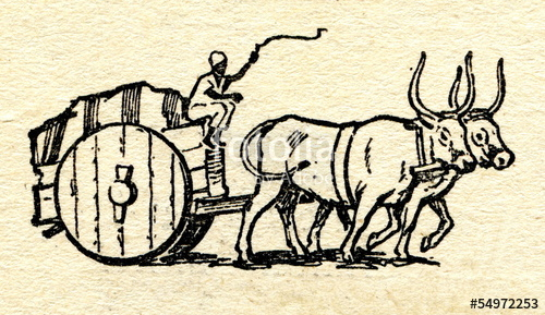 500x289 Ancient Bullock Cart Stock Photo And Royalty Free Images