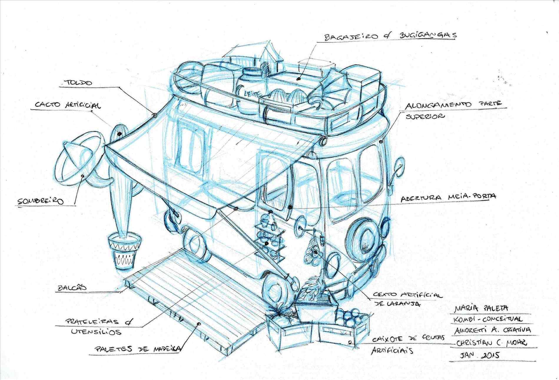 1899x1291 The Images Collection Of Creative Concept Food Cart Drawing Art
