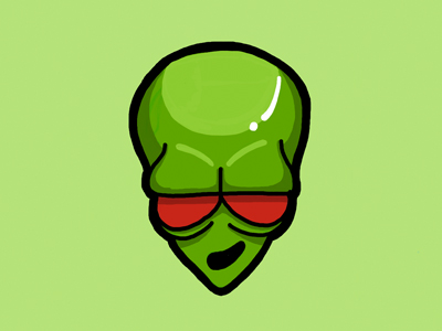 400x300 Baked Alien Emote By Christine Wilde