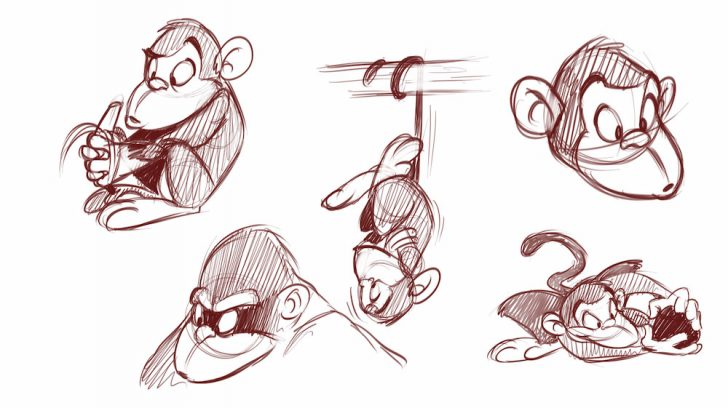 728x408 Drawing Cartoon Animals