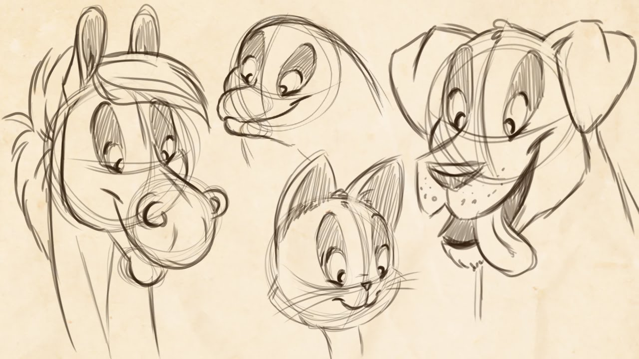 1280x720 How To Draw Cartoon Animals! (Feat. Jullelin Art)
