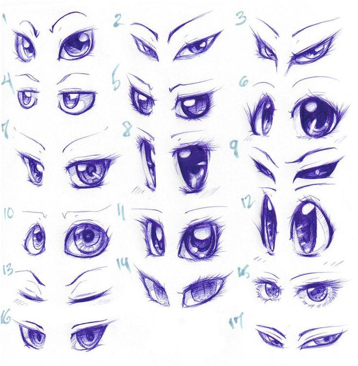 736x752 Cartoon Eyes