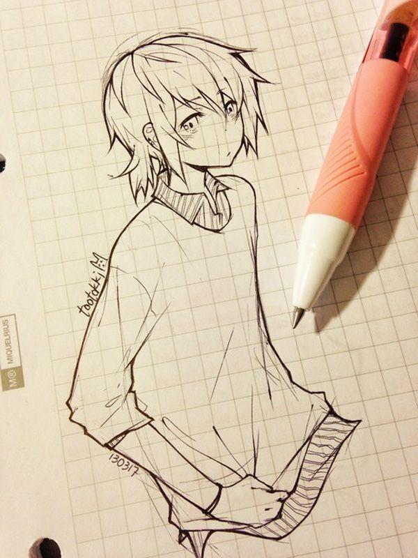 600x800 55 Beautiful Anime Drawings Drawings, Anime And Manga