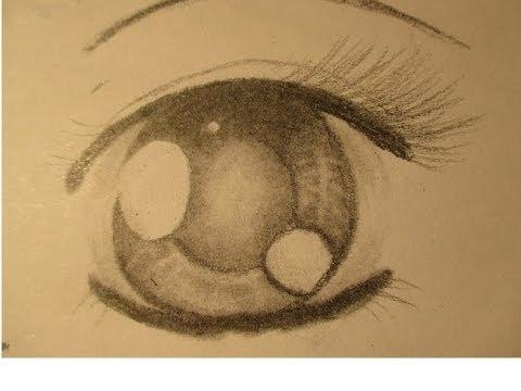 480x360 How To Draw Beautiful Cartoon (Anime) Eyes