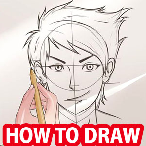 300x300 How To Draw Anime Tutorial With Beautiful Anime Character Drawings
