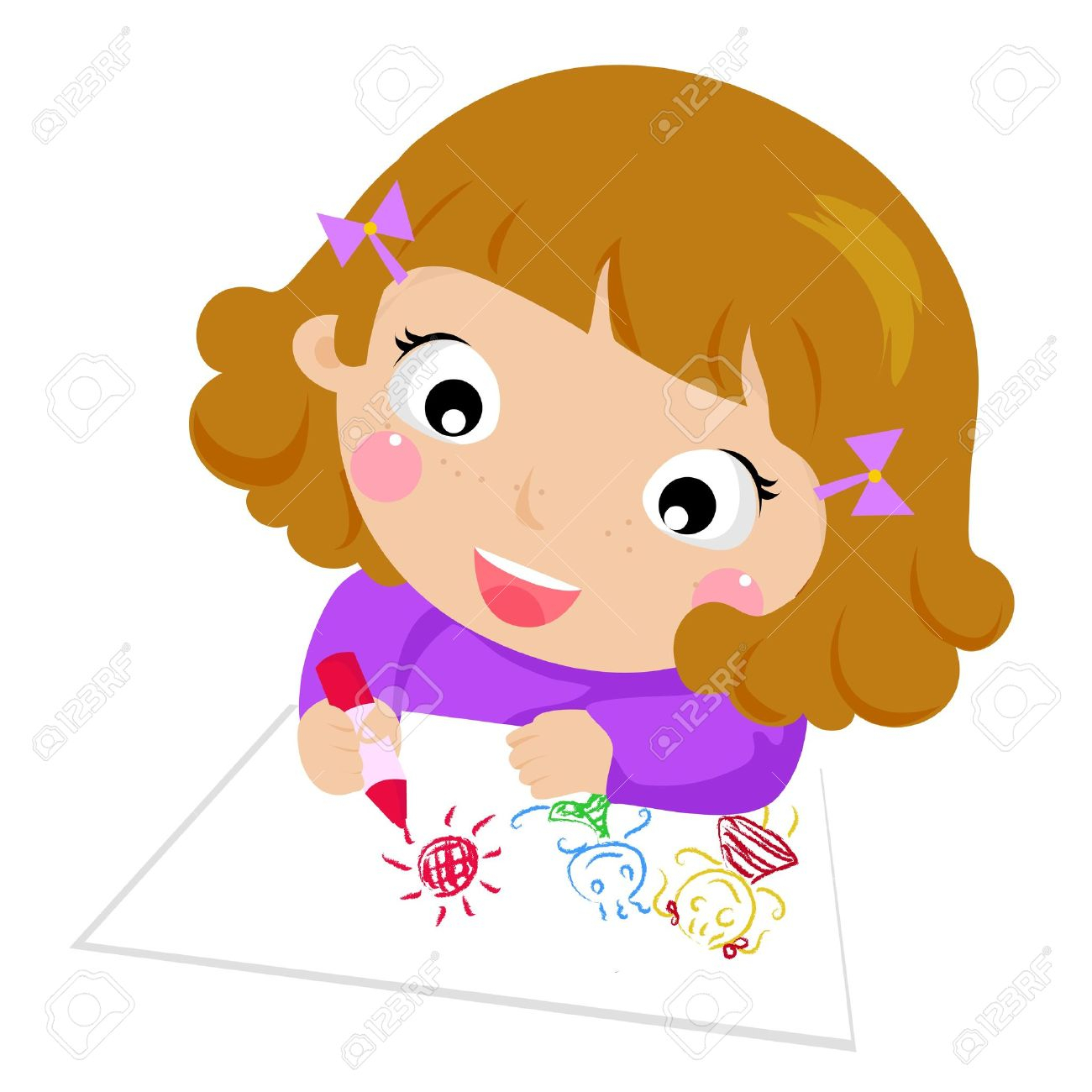 1300x1300 Cartoon Child Drawing Drawn Child Cartoon