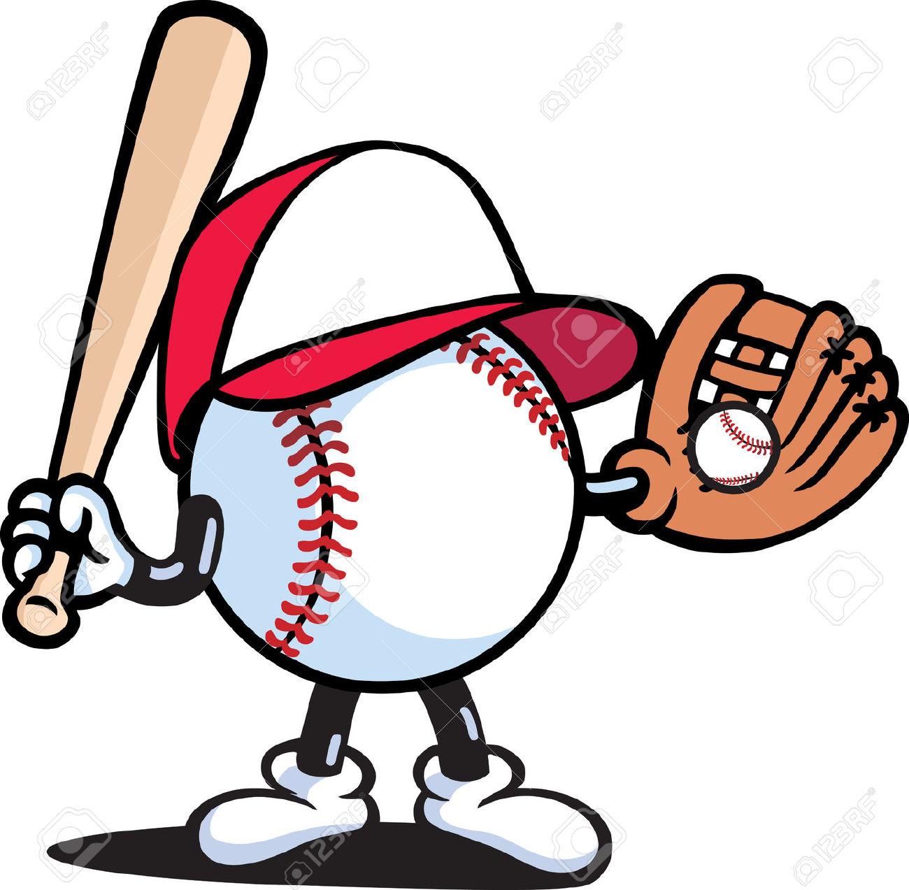 1300x1273 Baseball Cartoon Drawings Baseball Bat Stock Photos, Pictures