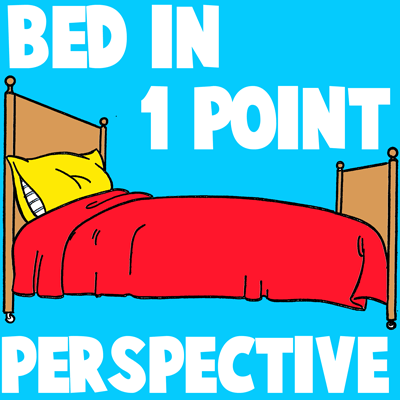 400x400 How To Draw Cartoon Beds In One Point Perspective