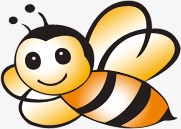 374x266 Bee, Cartoon Bee, Drawing Bee Png Image And Clipart For Free Download