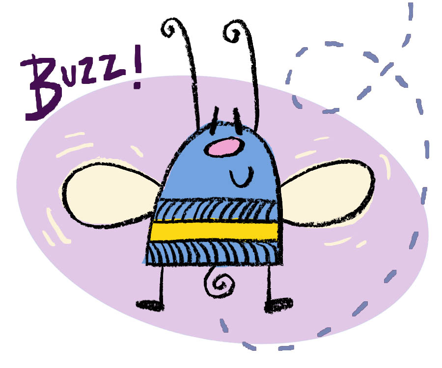 900x750 Draw Buzz The Bee Draw With Rich