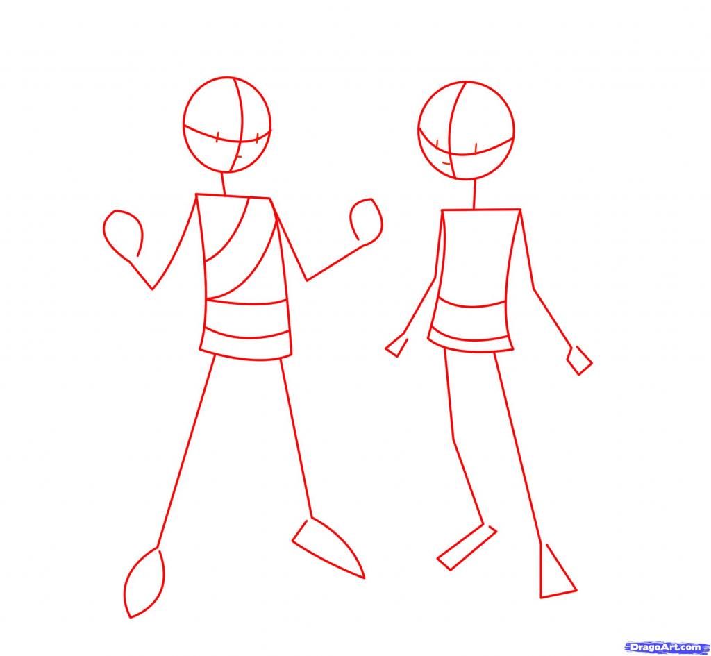1024x945 Drawing Cartoon Bodies Drawing Cartoon Bodies