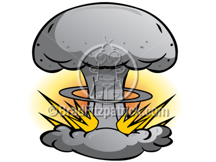 432x324 Cartoon Atomic Bomb Clip Art Atomic Bomb Graphics Clipart
