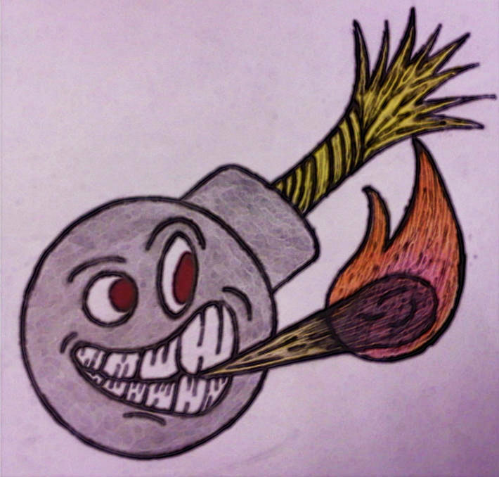 710x678 Cartoon Bomb By Goggles0510 On Newgrounds