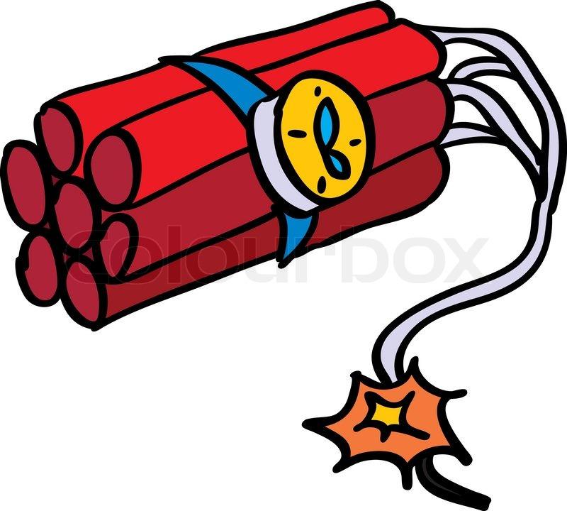 800x720 Tnt, Cartoon, Bomb Stock Vector Colourbox