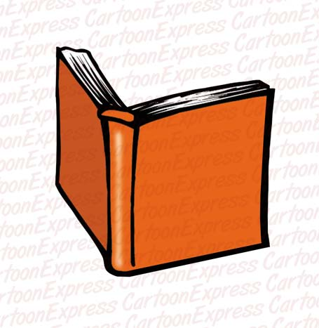 455x467 Drawings Of Books Cartoon Vector Illustration Of A Book Open