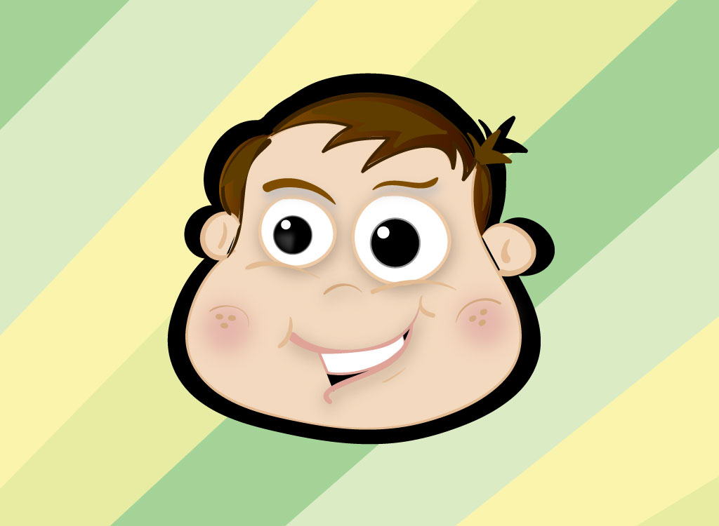 1024x750 Cartoon Boy