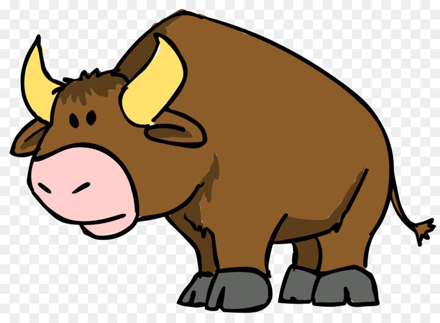 900x660 Cartoon Bull Drawing Clip Art